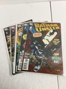 Batman Unseen 1-5 Lot Set Run Nm Near Mint DC Comics IK