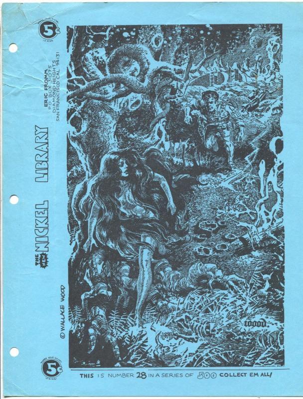 Nickel Library 28 1970s Eric Fromm Wally Wood Sci Fi Art Single