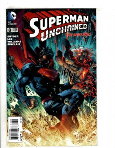 Superman Unchained #8 (2014) OF25
