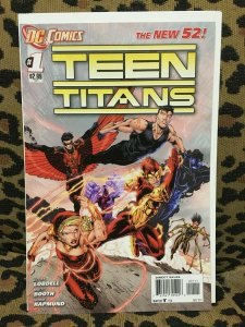 TEEN TITANS: THE NEW 52 - DC - 17 Issues - #0, 1 - 15, Annual #1 - 2012 - 13 VF+