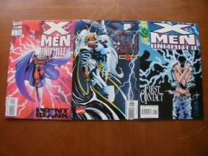 3 Near-Mint Marvel Comic: X-MEN UNLIMITED #2 7 8 Point Blank Storm First Contact