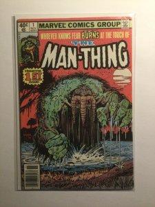 Man-Thing 1 Very fine- vf- 7.5 Marvel