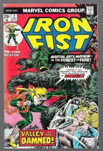 IRON FIST #2, VF/NM, Chris Claremont, John Byrne, Marvel, 1975, more in store