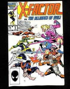 X-Factor (1986) #5 1st Apocalypse Cameo!