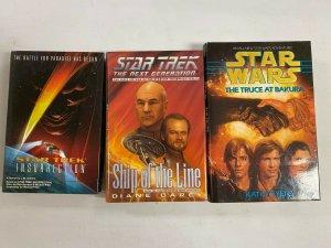 3 Star Trek Hard Cover AVG 6.0 FN