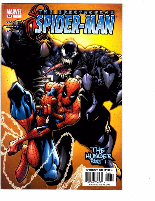 Lot Of 5 Spectacular Spider-Man Marvel Comic Books # 1 2 3 4 5 NM 1st Prints AK9