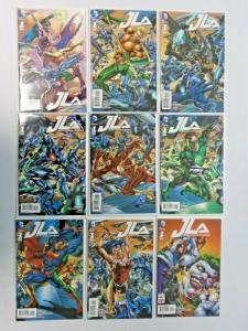 JLA lot #1 A to #1 I - 9 different books - 8.0 - 2015