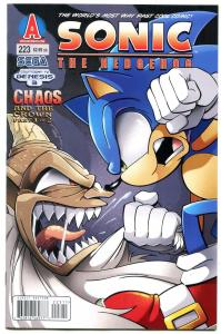 SONIC THE HEDGEHOG #223 2011--Archie Comics-Sega