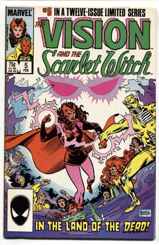 Vision and the Scarlet Witch #5-1985-comic book-Infinity War movie