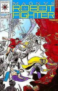Magnus Robot Fighter (Valiant) #10 VF; Valiant | save on shipping - details insi