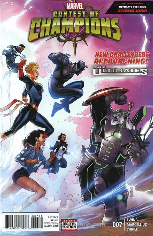 Contest Of Champions #7 VF/NM; Marvel | save on shipping - details inside