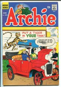 Archie #164 1966-MLJ/Archie-Tiger in your tank cover-VG