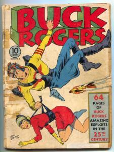 Buck Rogers #2 1941- Rare golden age comic- incomplete