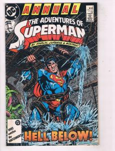 Adventures of Superman (1987) Annual #1DC Comic Book Ronald Reagan HH3