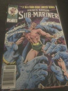 Prince Namor, the Sub-Mariner #3 (1984) Mint