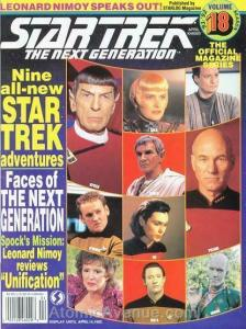 Official Star Trek, The: The Next Generation Magazine #18 FN; Starlog | save on