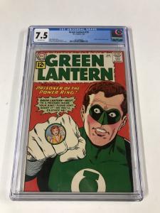 Green lantern (1960's Series) #10 CGC 7.5