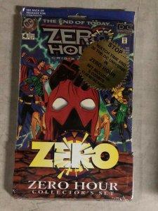 ZERO HOUR COLLECTOR'S SET -  STORYLINE STILL SEALED - 0,1-5 (1995)