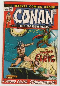 Conan the Barbarian #14 (Mar-72) VF/NM High-Grade Conan the Barbarian
