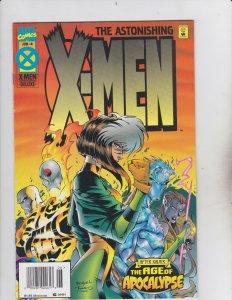 Marvel Comics! The Astonishing x-men!  After Xavier! x-men Deluxe!