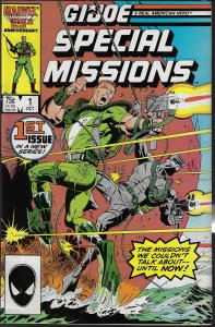 GI Joe, Special Missions #1 (Marvel, 1986) NM