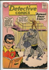 DETECTIVE #265 1959-DC COMICS-BATMAN-ROBIN-JOHN JONES-ORIGIN OF BATMAN-good+