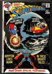Superman #232 GD/VG 3.0 Return to Krypton!
