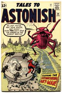 Tales to Astonish #39-Early Ant-Man-Jack Kirby-High Grade-Marvel VF
