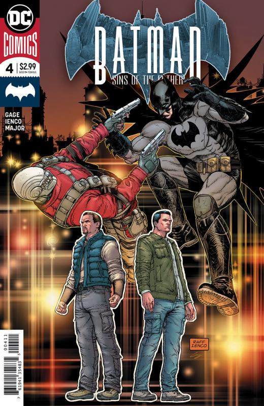 Batman Sins Of The Father #4 (DC, 2018) NM