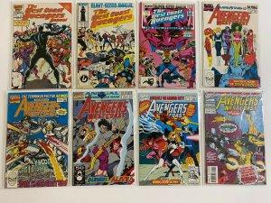 Avengers West Coast Set: Annual #1-8 8.0 VF (1986-1993)