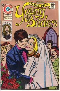 Secrets of Young Brides #2 1975-Charlton-2nd issue-bride cover-FN+