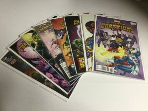 Contest Of Champions 3-10 With Variants Nm Near Mint Marvel Comics
