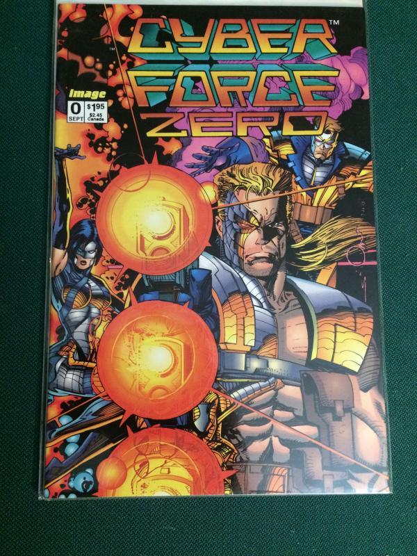 Cyber Force Zero #0