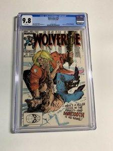 Wolverine #10 CGC graded 9.8