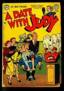 A Date With Judy #21 1951- DC Humor-Explosion cover - F/G
