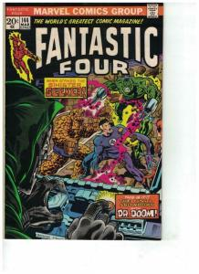 FANTASTIC FOUR 144 VF Mar. 1974