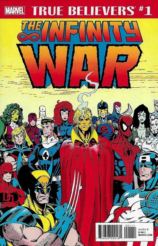 True Believers Infinity War #1 (Marvel, 2018) NM