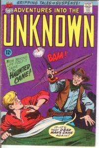 ADVENTURES INTO THE UNKNOWN 168 VG DITKO COMICS BOOK