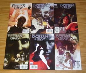 Marvel Illustrated: Picture of Dorian Gray #1-6 FN complete series classics