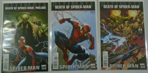 Death of Spider-Man Lot of (3 DIFF) - 6.0 FN - 2011