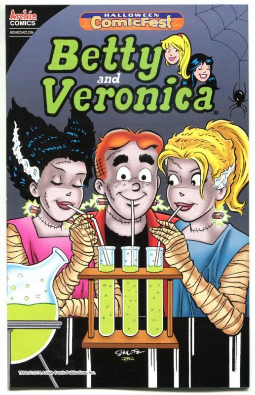 BETTY and VERONICA #1 Halloween ashcan, Promo, 2014, NM, more ARCHIE in store