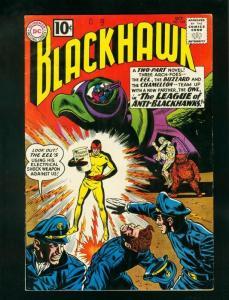 BLACKHAWK #165 1961-DC COMICS-LEAGUE OF ANTI-BLACKHAWKS-fine/very fine FN/VF