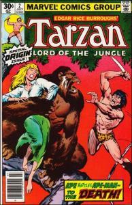 Marvel TARZAN (1977 Series) #2 VF