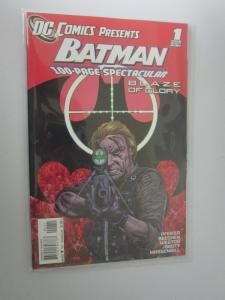DC Comics Presents Batman Blaze of Glory (2011) #1 - VF - 2011