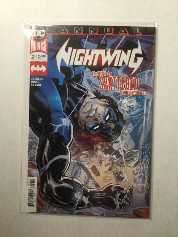Nightwing Annual 2 Near Mint Nm Dc Comics
