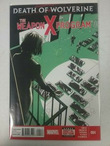 Death of Wolverine: The Weapon X Program #4 Marvel comics NW142