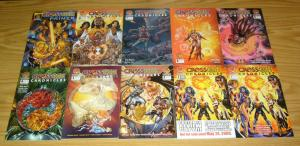 Crossgen Chronicles #1-8 VF/NM complete series + customer review copy + primer