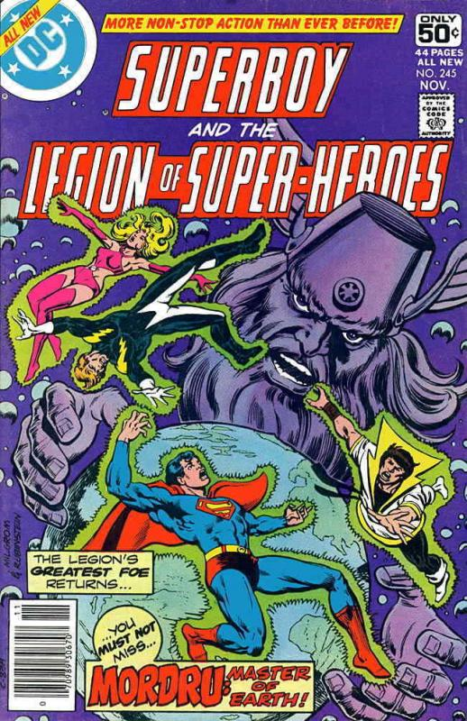 Superboy and the Legion of Super-Heroes #245 FN; DC | save on shipping - details