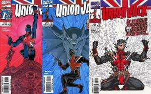 UNION JACK (1998) 1-3  vs Vampires!