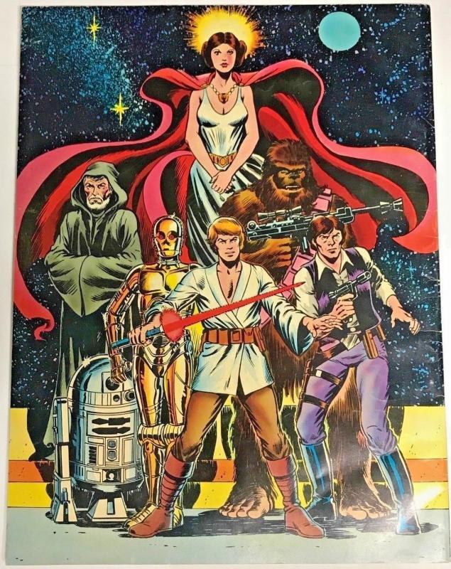 MARVEL SPECIAL EDITION TREASURY#1 FN 1978 STAR WARS WHITMAN BRONZE AGE COMICS